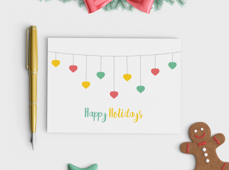 Printable Christmas Cards 2017